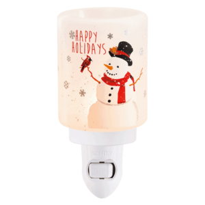 scentsy happy holidays mini warmer