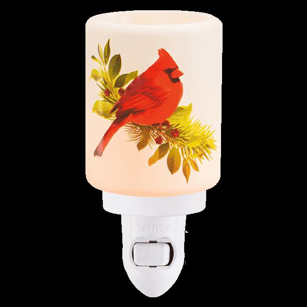 Scentsy Christmas Cardinal Mini Warmer Scentsy Holiday Store