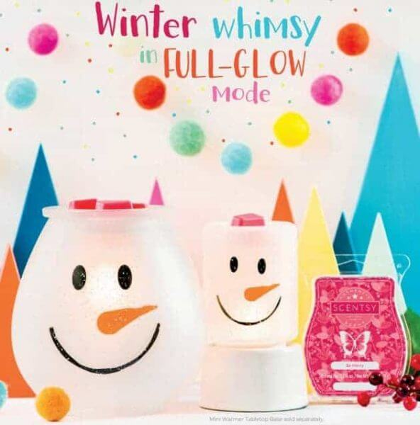 scentsy snowman frosty