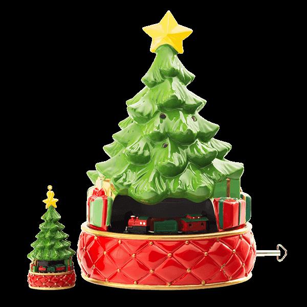 scentsy tree tannenbaum candle warmer