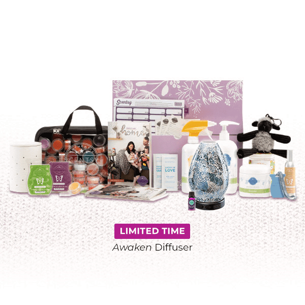 scentsy join kit with diffuser