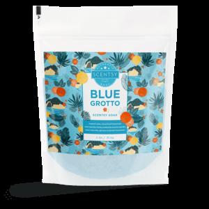 scentsy soaks bath blue grotto