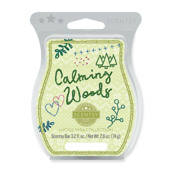 scentsy bar calming woods