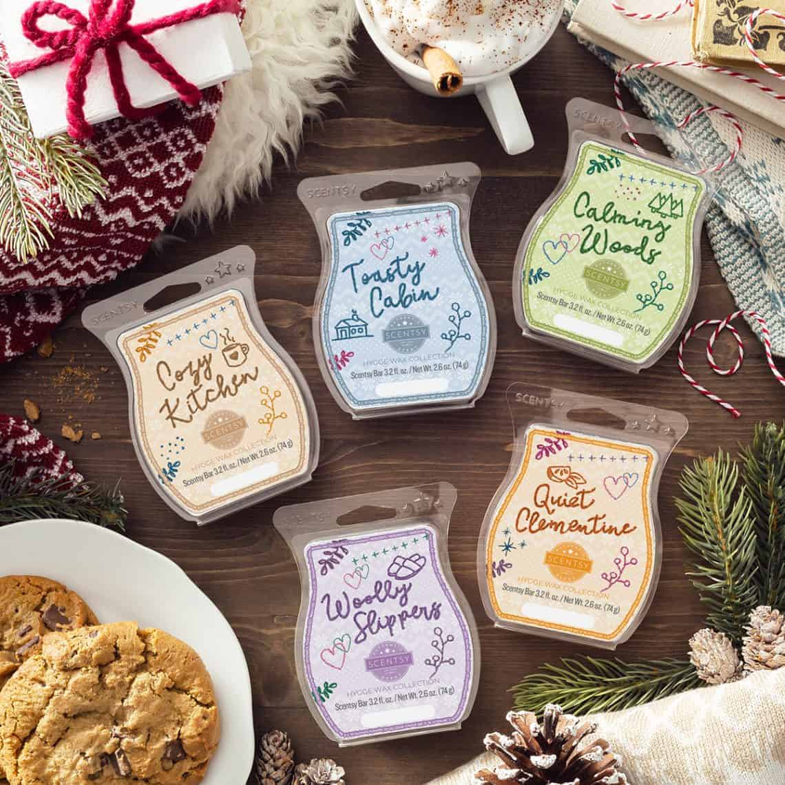scentsy hygge bar collection