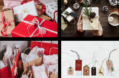 scentsy gift wrapped presents holiday