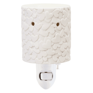 american heart nightlight warmer