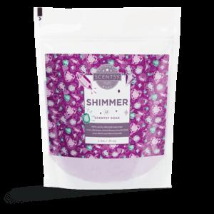 scentsy shimmer bath soaks