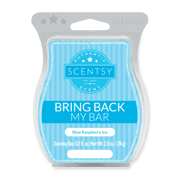 scentsy bring back my bar raspberry ice