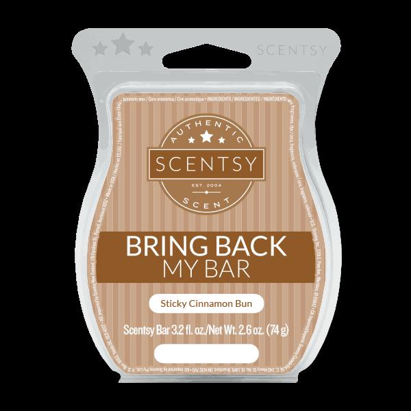 scentsy cinnamon sticky buns
