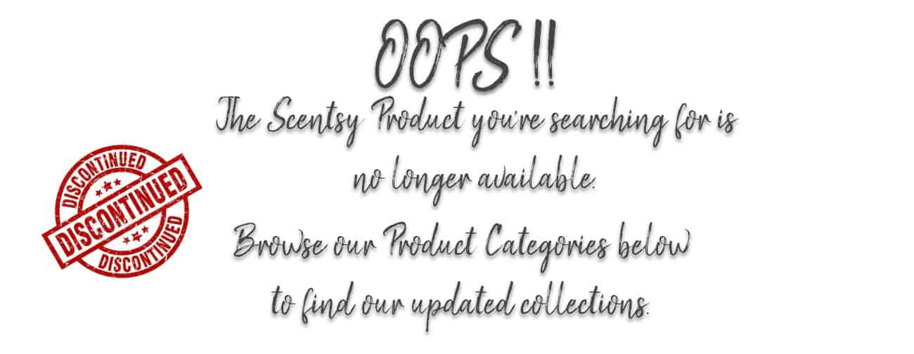 scentsy discontinued products