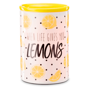 lemon warmer by scentsy