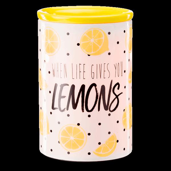 lemon warmer by scentsy