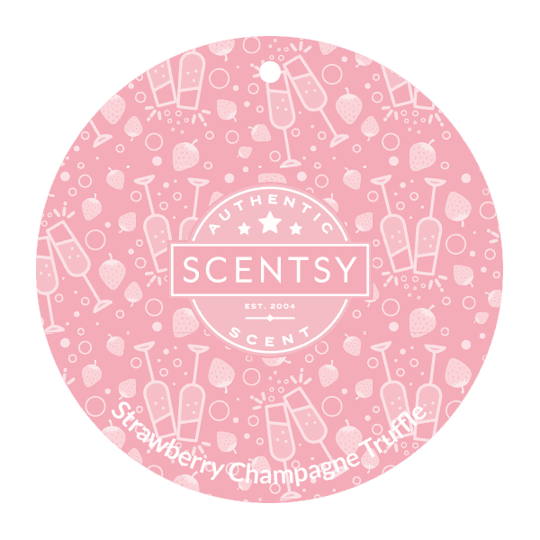 STRAWBERRY CHAMPAGNE TRUFFLE SCENT CIRCLE