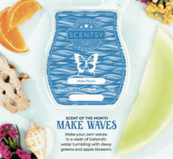scentsy march scent make waves