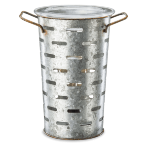 scentsy olive bucket turned off