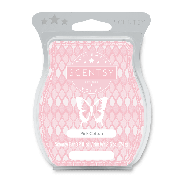 pink cotton scentsy scent bar