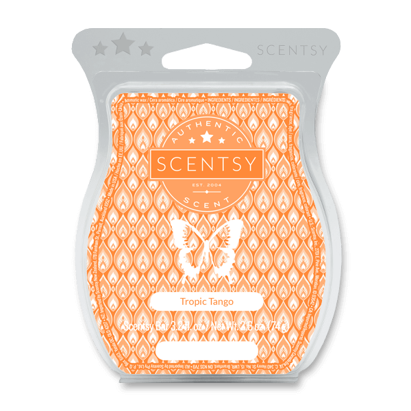 Tropic tango scentsy bar for spring