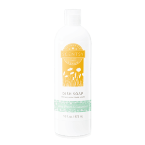 scentsy dish soap aloe water