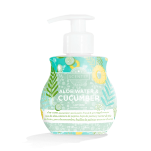 aloe water cucumber lotion