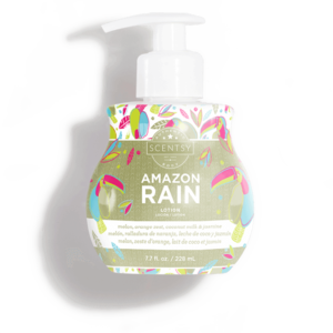 amazon rain lotion scentsy