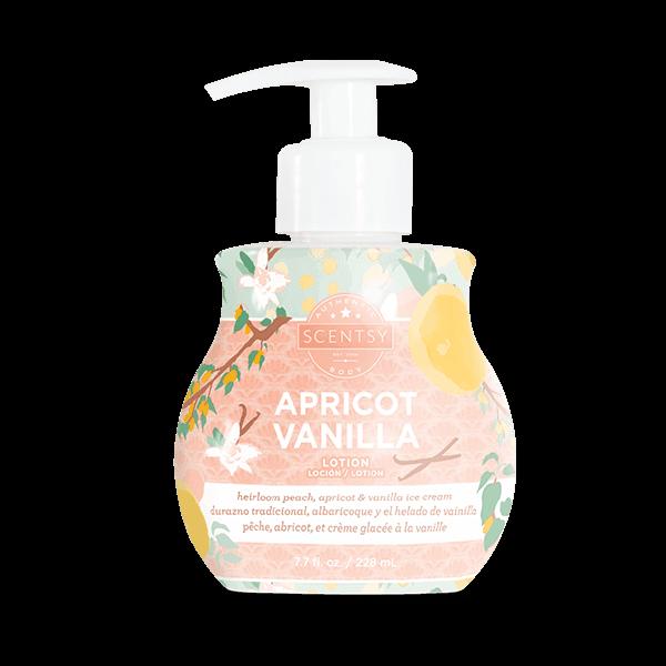 scentsy apricot vanilla body lotion