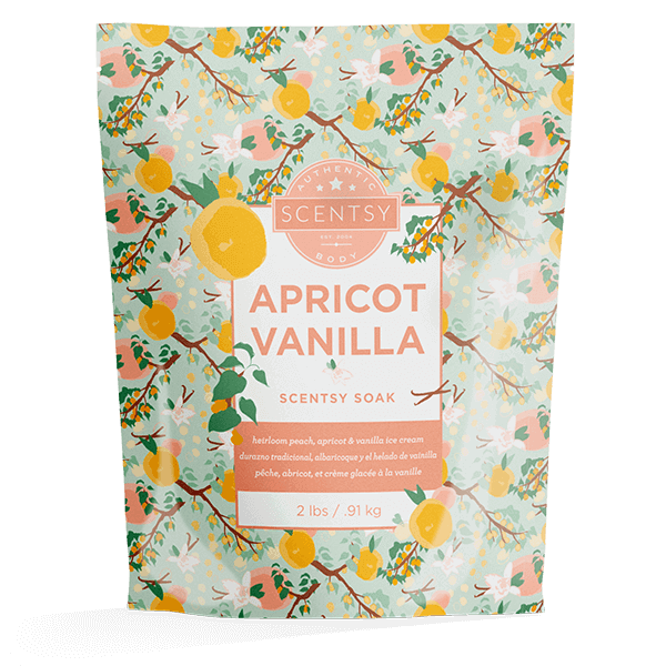Apricot Vanilla Scentsy Soaks