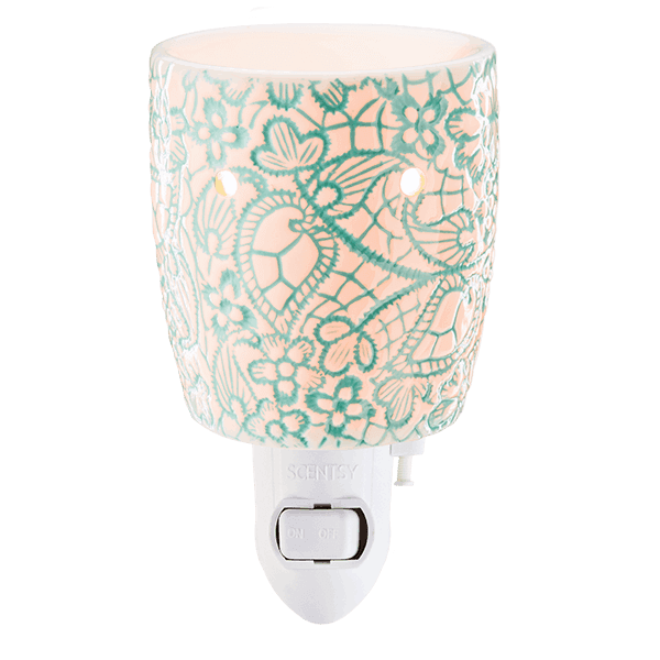 scentsy mini warmer chantilly