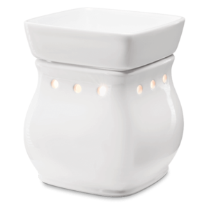 scentsy white candle warmer