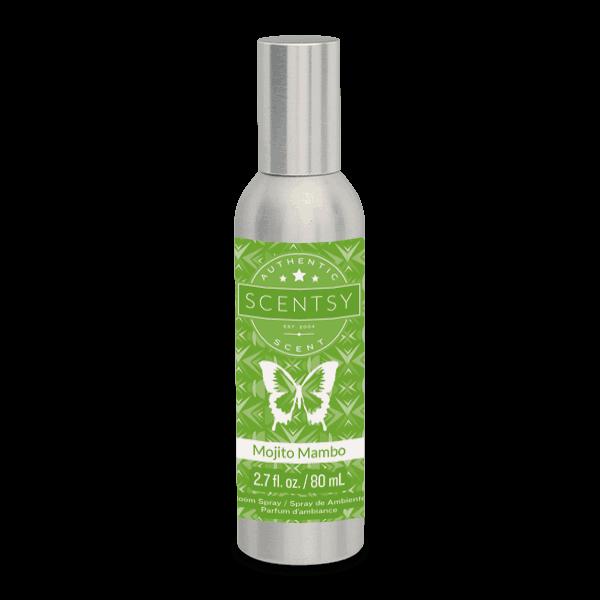 mojito mambo room spray by scentsy