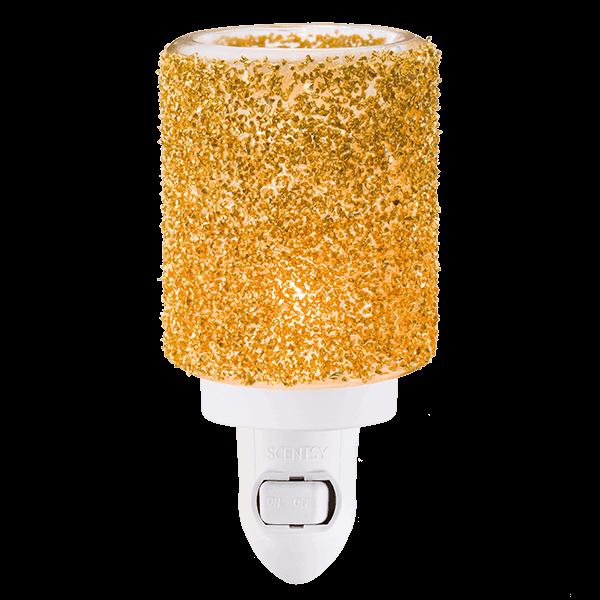 Glitter Gold Scentsy Mini Warmer