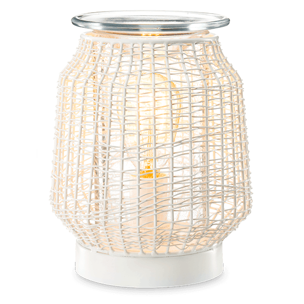 scentsy wicker warmer new for spring