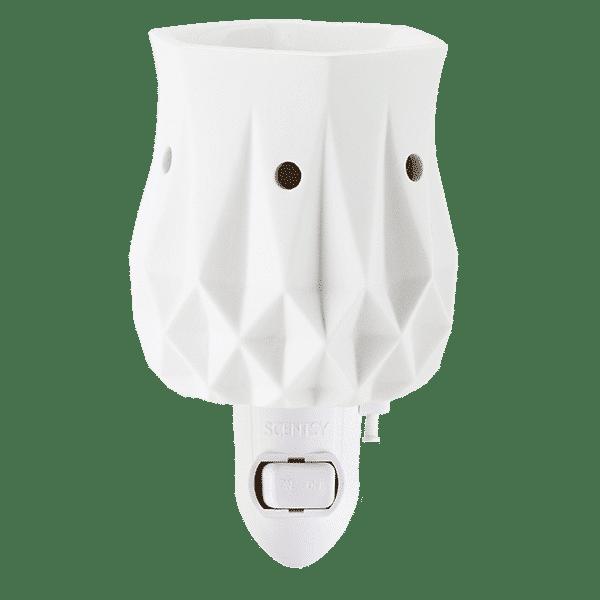 scentsy alabaster mini warmer
