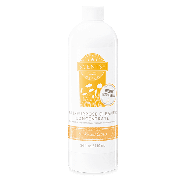 sunkissed citrus concentrated cleaner