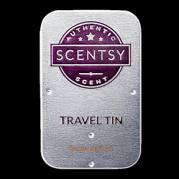 Scentsy Travel Tin Sunkissed Citrus