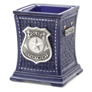 scentsy police collection candle warmer