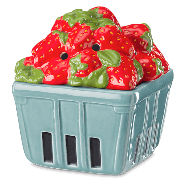 Scentsy Strawberry Basket Warmer