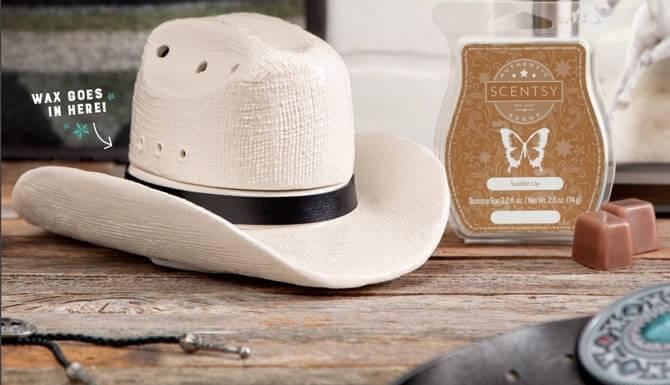 1adbabe6fec78 Scentsy Cowboy Hat Warmer - Country Born