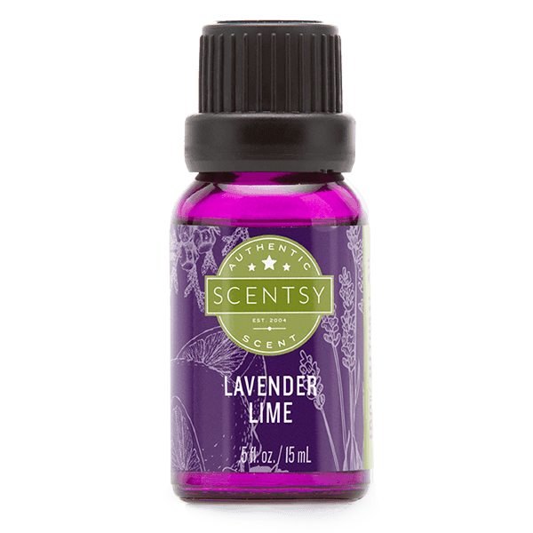 scentsy lavender lime essential oil