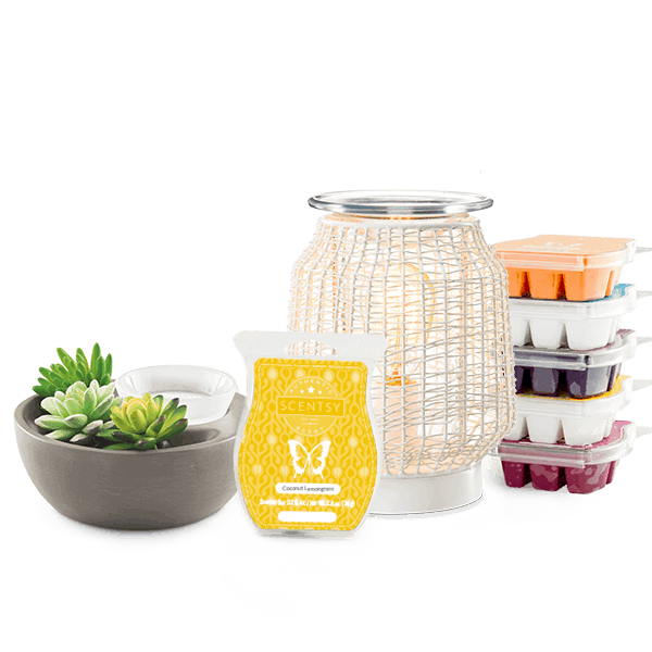 Scentsy System with 2 $40 Warmers