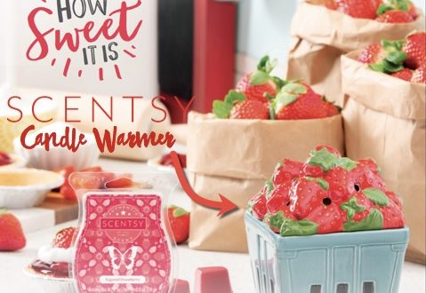 warmer month of April Strawberry basket