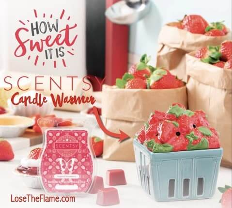 warmer month of April Strawberry basket