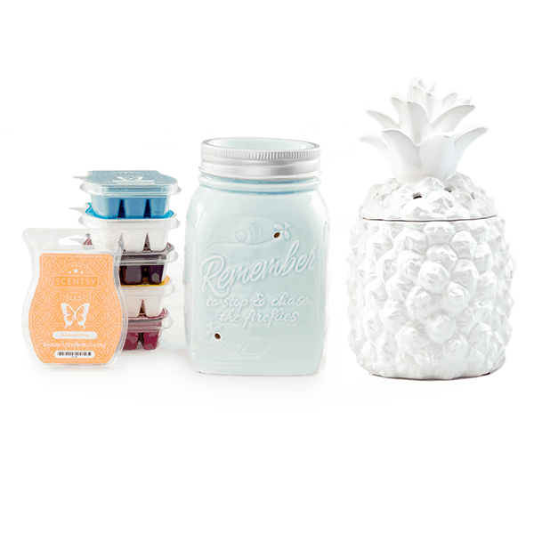 Scentsy System with 2 $35 Warmers