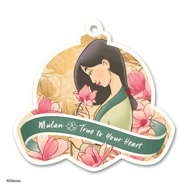 Disney Mulan True To Your Heart Scent Circle
