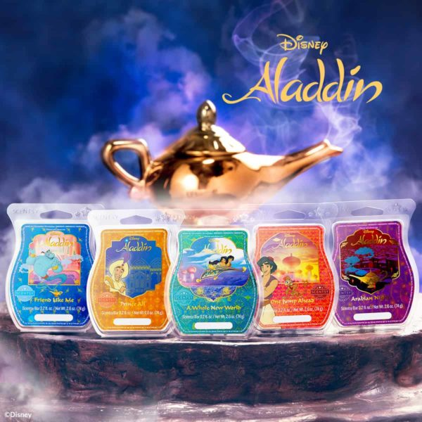 scentsy aladdin collection