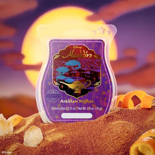 scentsy aladdin by disney
