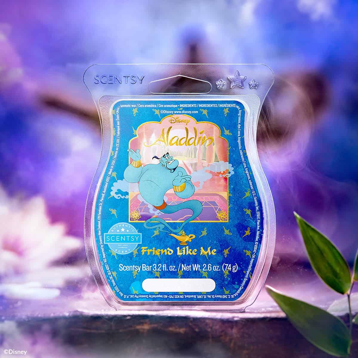 Disney Aladdin Wax Friend Like Me Online Scentsy Store