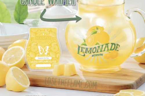 scentsy lemonade pitcher for June