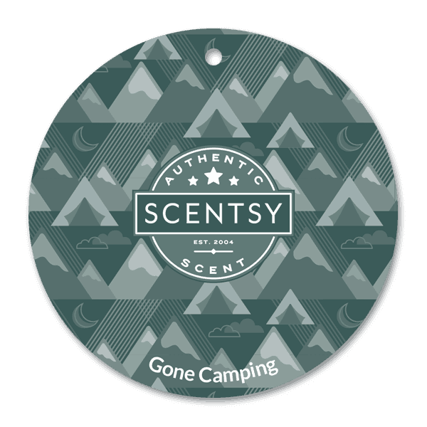 Gone Camping Scent Circle