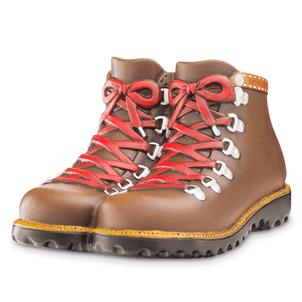 Scentsy Hiker Boots Candle Warmer