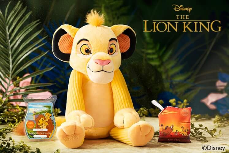 Scentsy Simba From Lion King Disney Lion King Collection